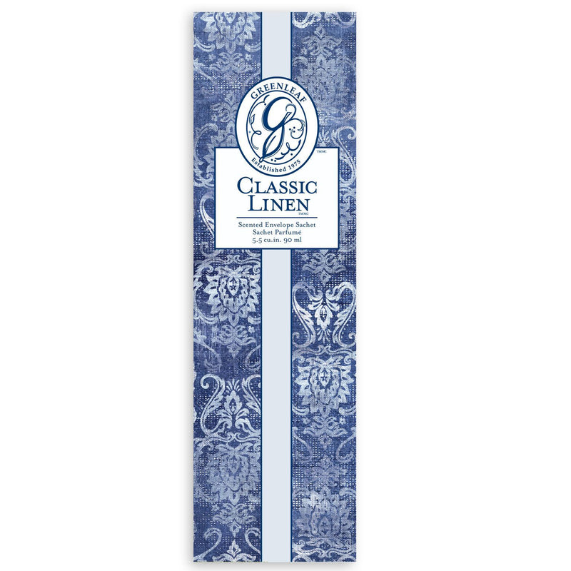 Greenleaf Scented Sachet Classic Linen