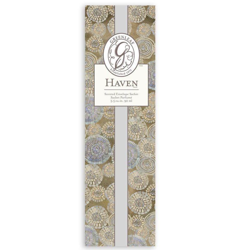 Greenleaf Scented Sachet Haven
