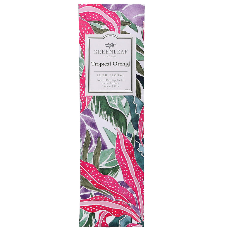 Greenleaf Scented Sachet Tropical Orchid