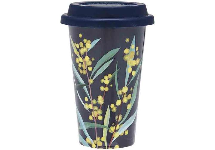 Ashdene Native Grace Travel Mug Wattle