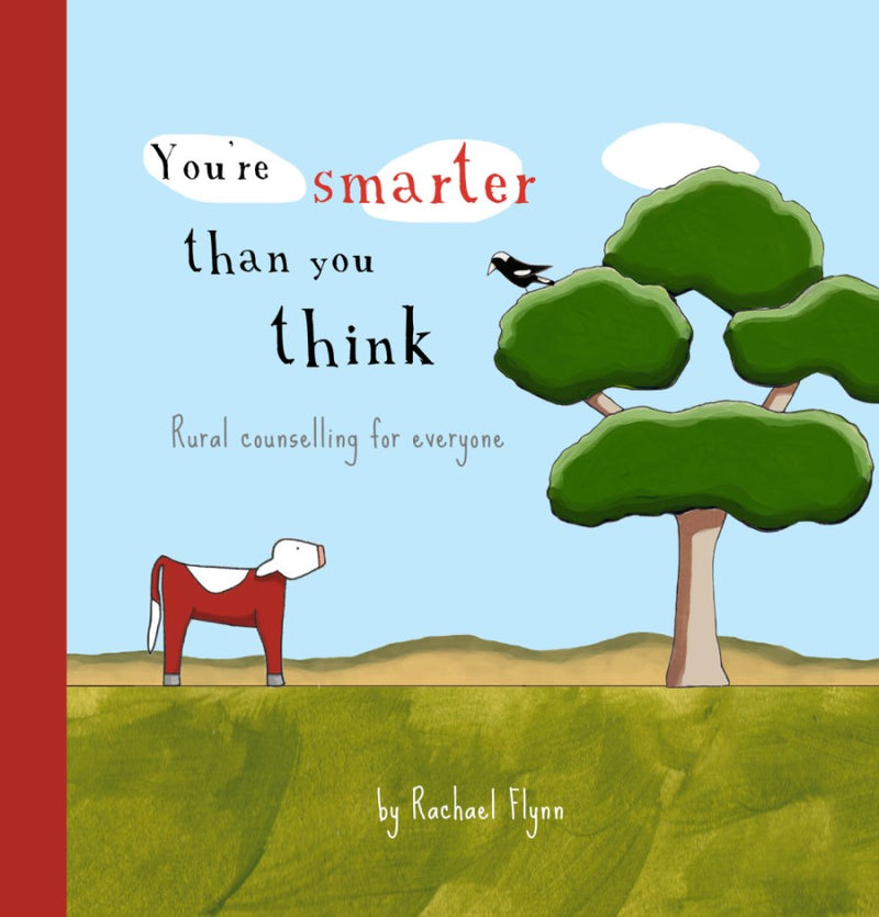 Red Tractor Designs Quote Book You're Smarter Than You Think Cover