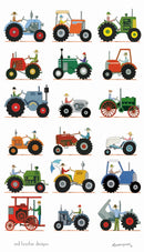 Red Tractor Designs Tea Towel The Tractor Show