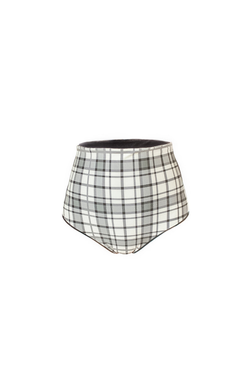 PEARLY Plaid SUPER HIGH WAIST panty