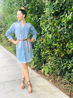 DANNY DENIM DRESS