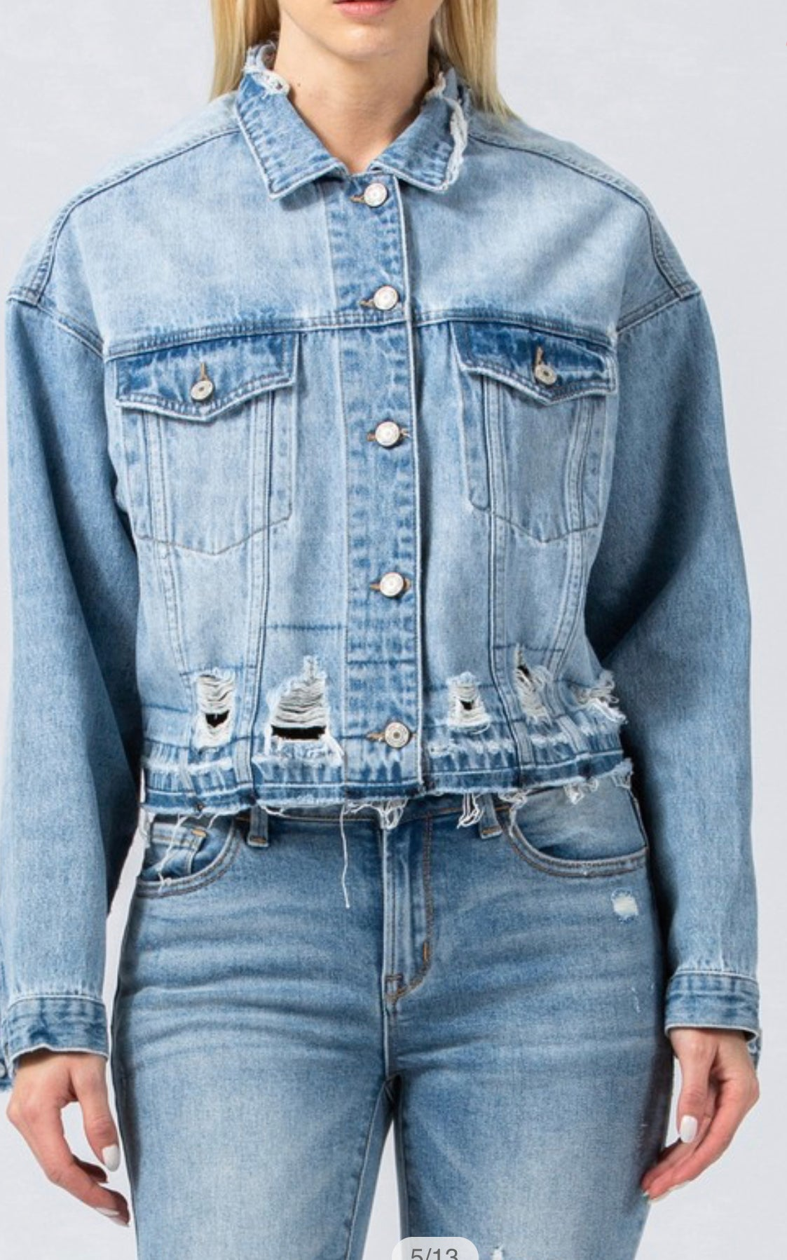 VINCE DENIM JACKET