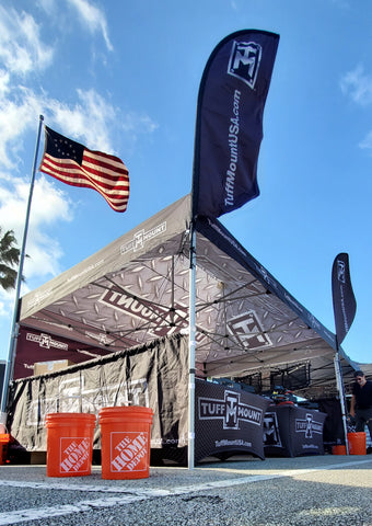 Tuff Mount Booth at Jeep Beach 2021