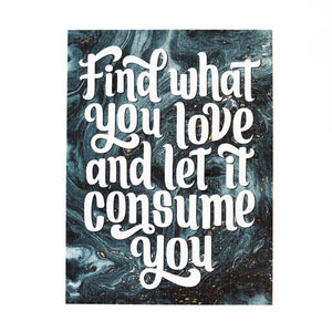 Piece of Mind Puzzles - Find what you love and let it consume you