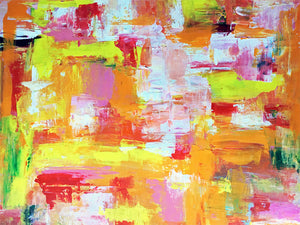 Contemporary Abstract #14,   brilliant blast of sunshine