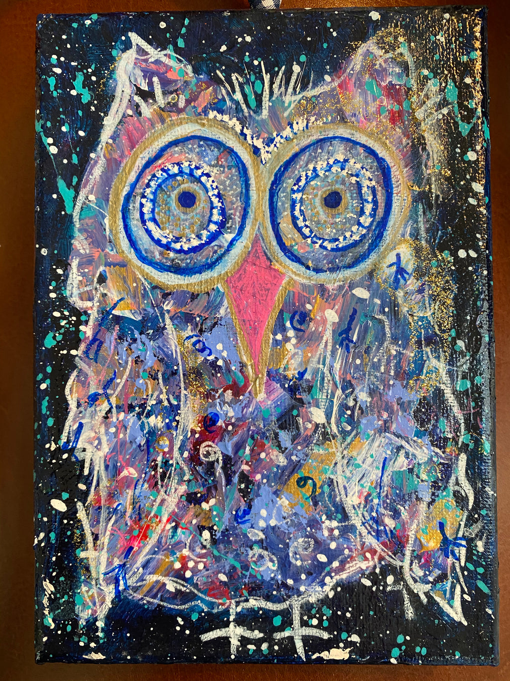 Meet Lawrence, Twinkle Owl, 5x7