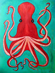 The Big Red Octopus