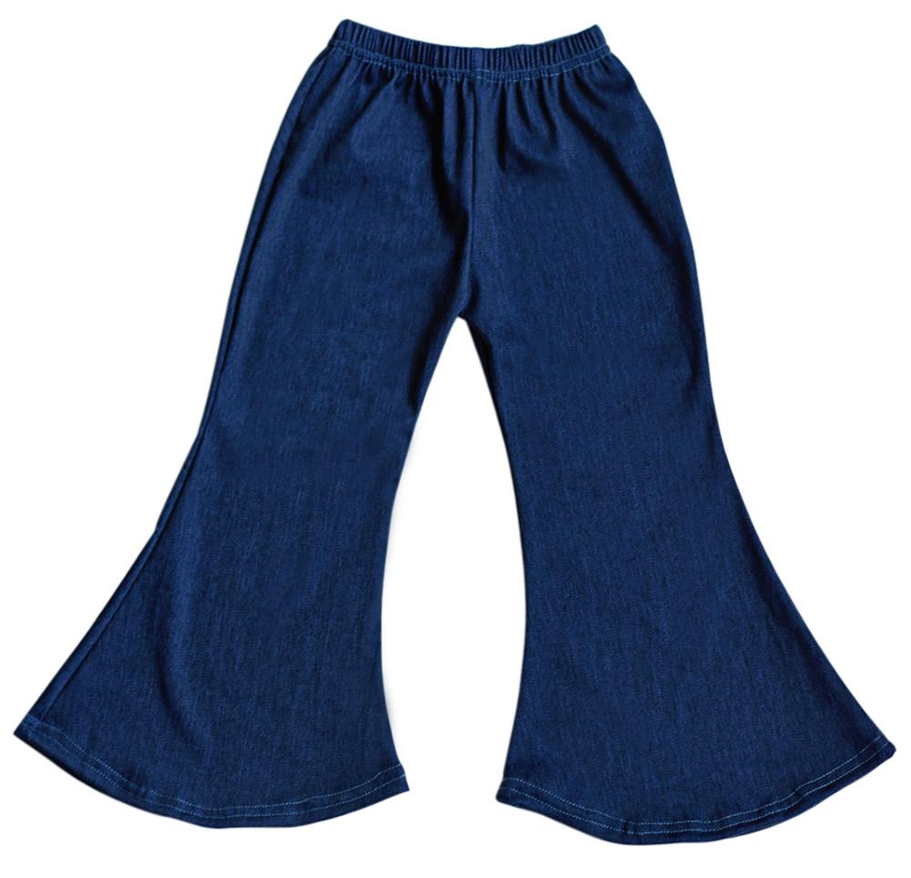 Boho Bell Bottoms - Denim
