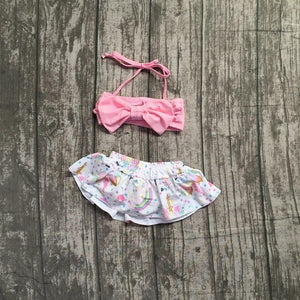 Pink Unicorn Party Bikini