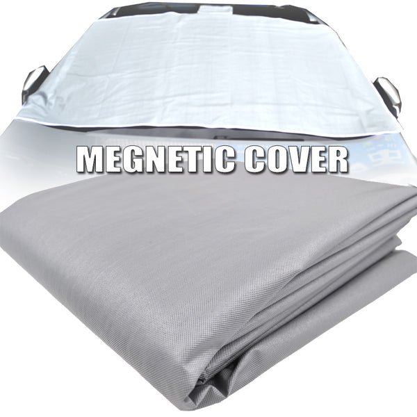 Winter Magnetic Half Size Car Cover Windshield