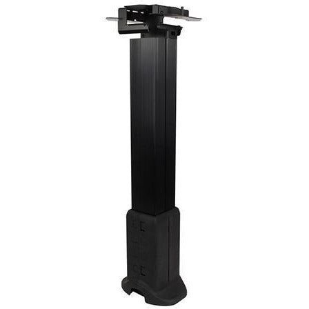 Under Table Cable Management Pathway Counter Height - Black