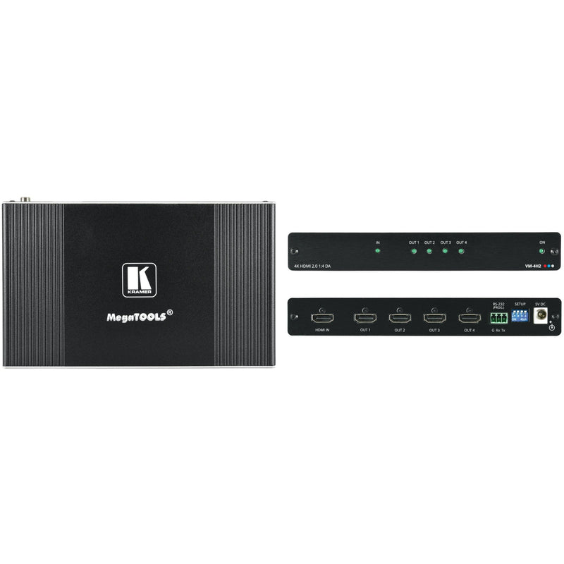 Kramer VM-4H2 1:4 4K HDMI Distribution Amplifier