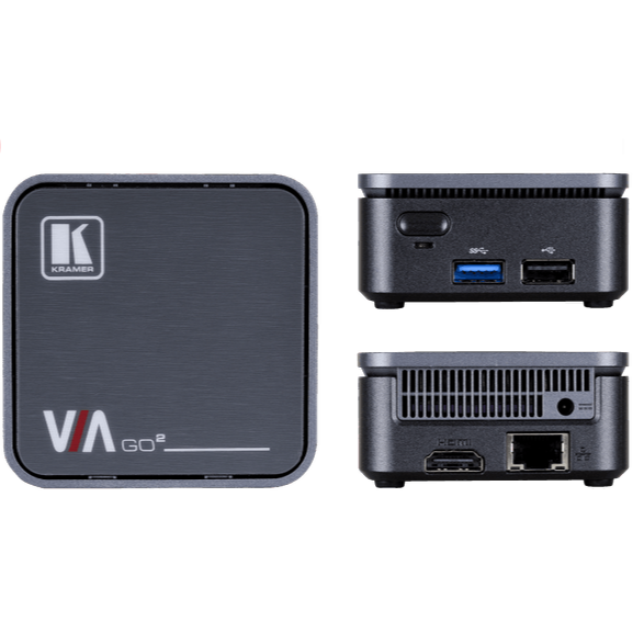 Kramer VIA GO2 Compact Wireless Presentation and Collaboration System