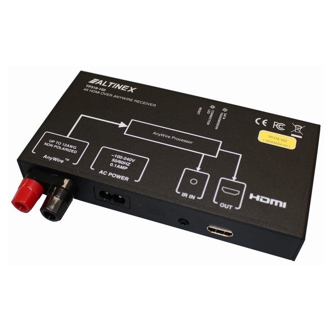 Altinex TP316-102 4K HDMI over Anywire Receiver