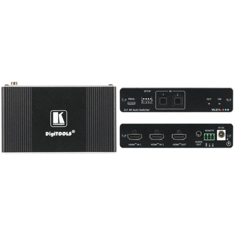 Kramer VS-211 2x1 Auto Switcher