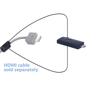 Liberty AV Digitalinx DL-AR6819 HDMI Adapter Ring, Convert From USB-C Female to HDMI Male