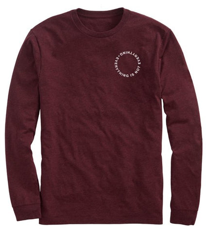 Lido Maroon Long Sleeve