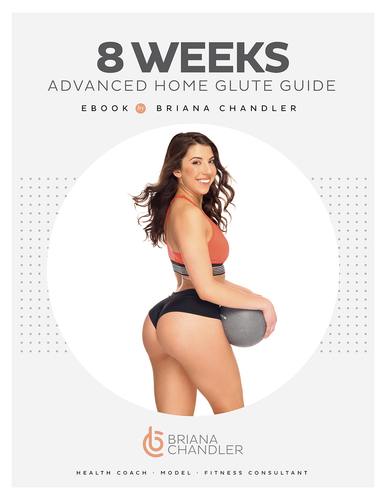 8 WEEKS ADVANCED HOME GLUTE GUIDE - includes HEALTHY EATS