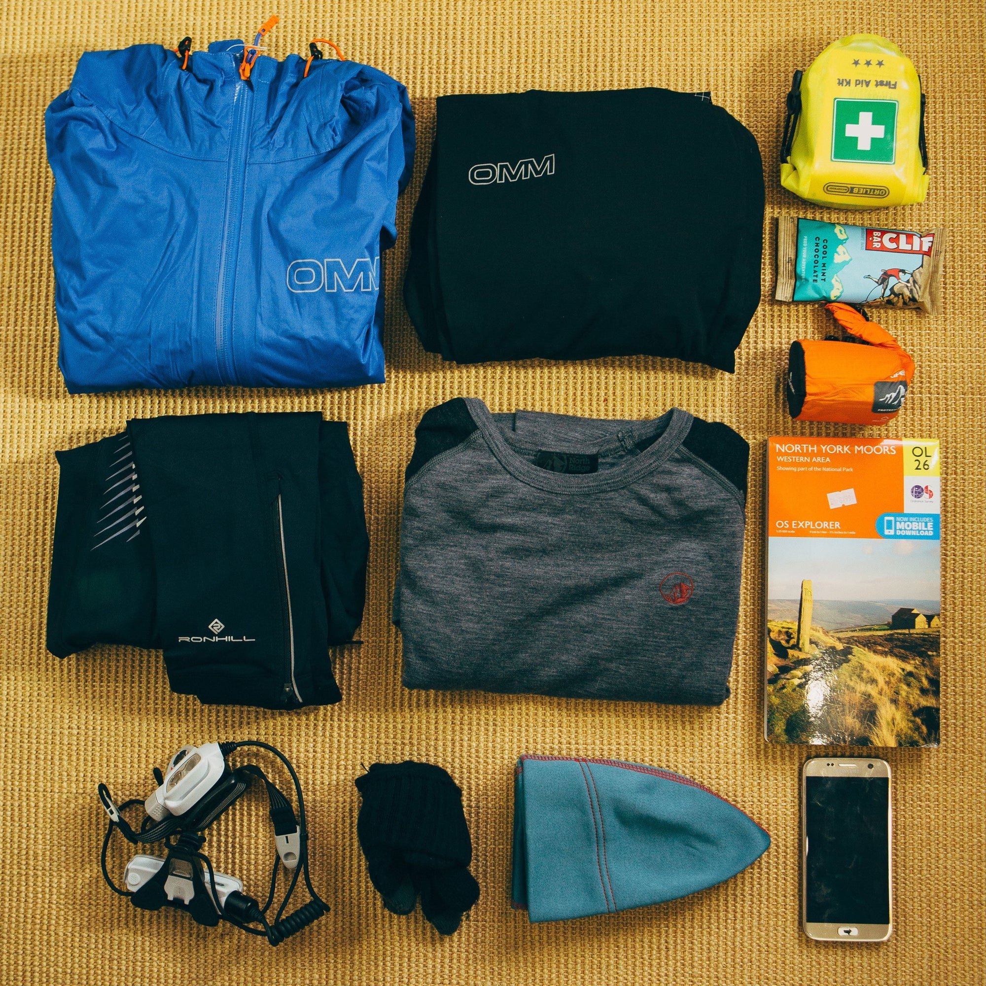 Ultra 50 Race Kit List