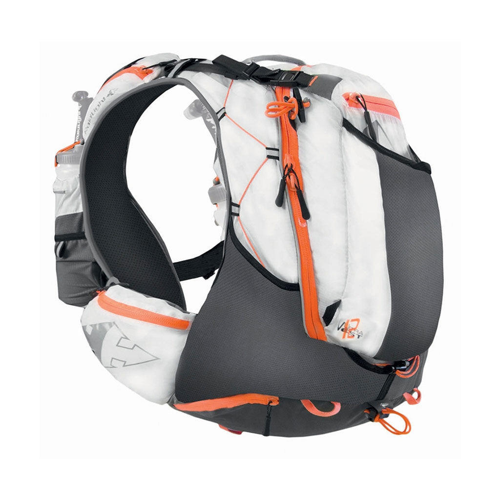 Raidlight Olmo 12L Ultra Vest - White/Orange