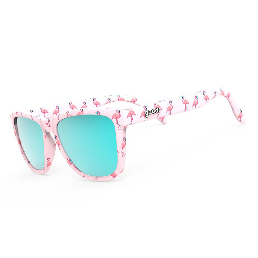 goodr sunglasses limited edition - carl's single & ready to flamingle - the OG