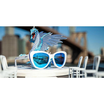 goodr sunglasses - iced by zombie dragons - runways