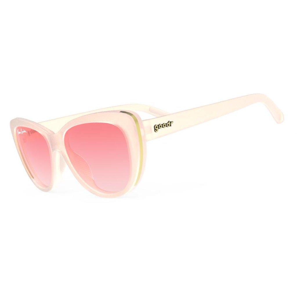 goodr sunglasses - stop and smell the róse - runways