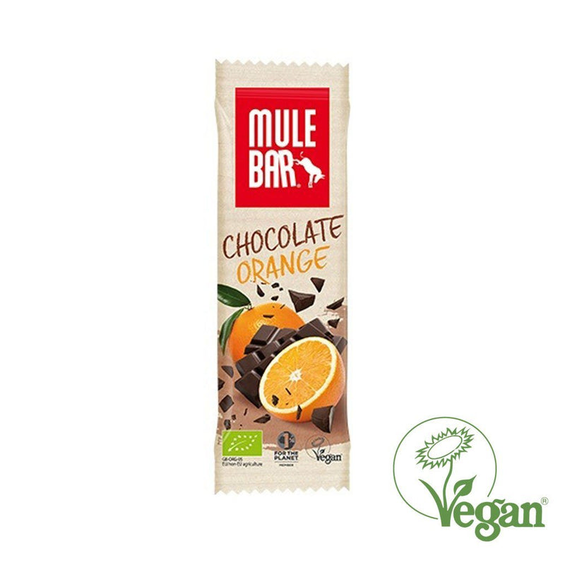 Mule Organic & Vegan energy bar – Chocolate Orange