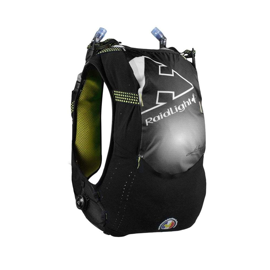 Raidlight Responsiv 10L Race Vest Mens Black/Yellow