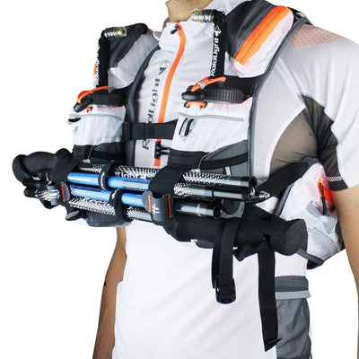 Raidlight Ultra Vest Olmo 5L - White/Orange