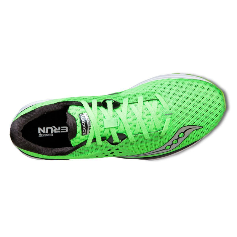 Saucony Kinvara 8 - Mens Running Shoes Slime Green/Black