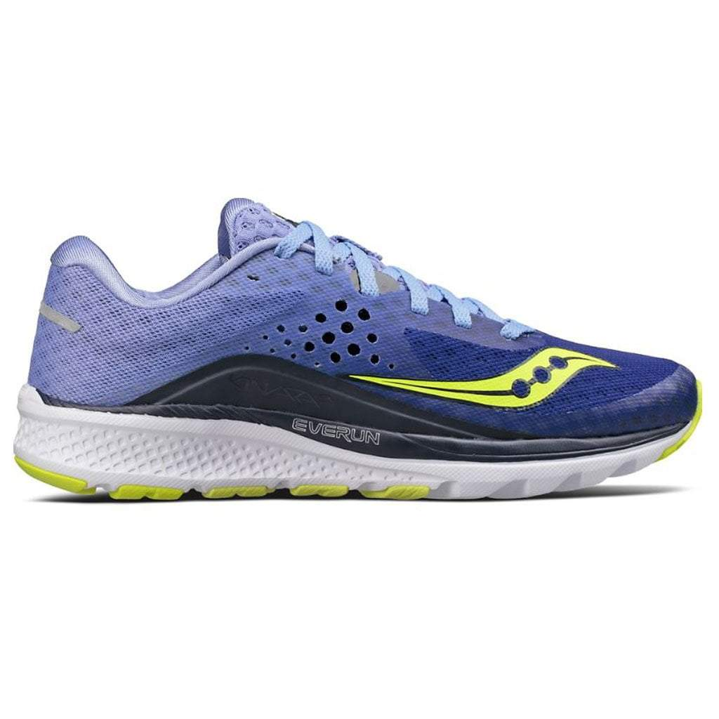 Saucony Kinvara 8 - Womens Road Running Shoes Navy/Purple