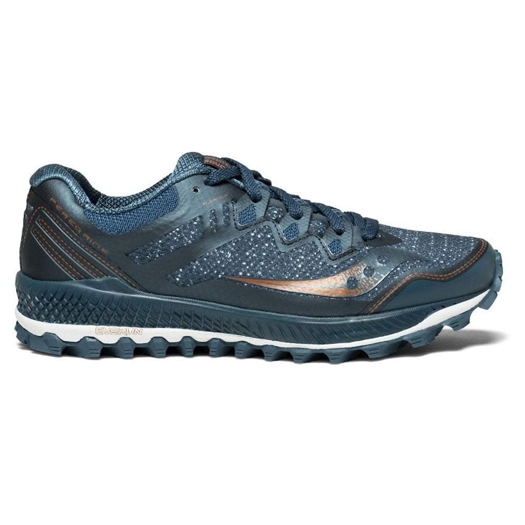 Saucony Peregrine 8 Women's - Blue/Denim/Copper