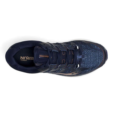 Saucony Triumph ISO 4 Men's Running Shoe - Navy/Denim