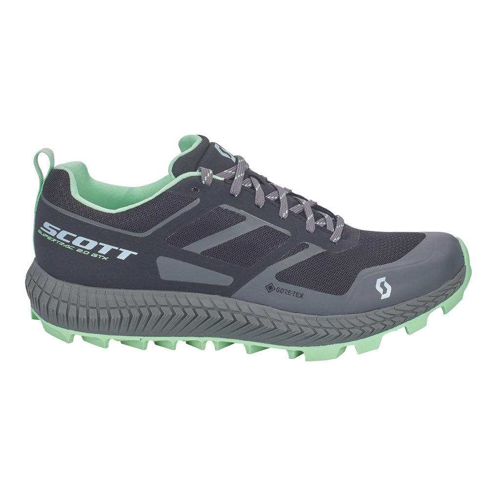 Scott Women's Supertrac - GTX 2.0 - Black / Light Green