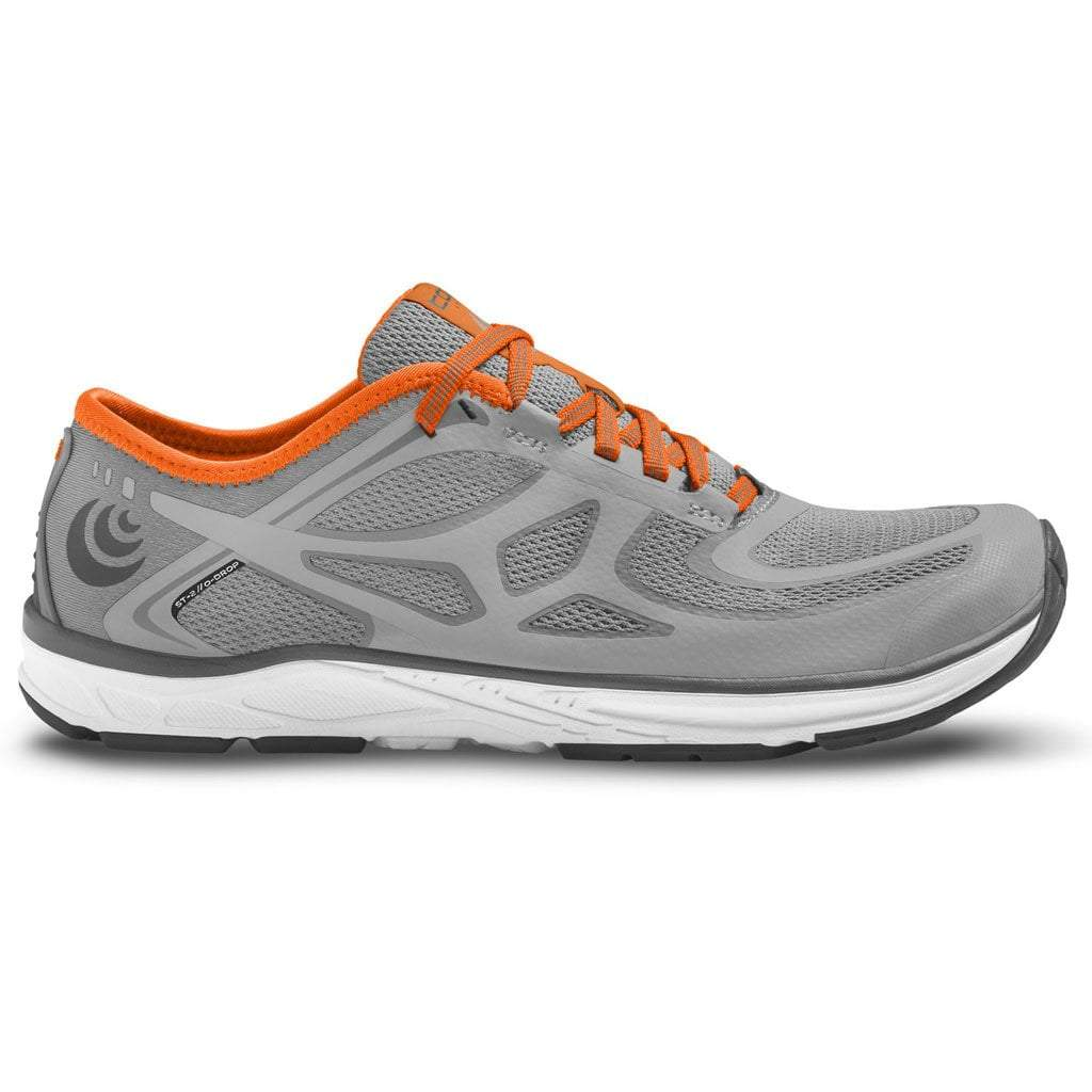 Topo ST-2 - Mens - Grey/Orange - Zero Drop Running Shoes