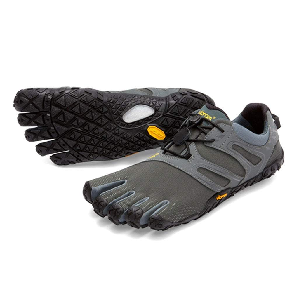 Vibram Fivefingers 2018 - V Trail Mens - Dark - Grey - Sage