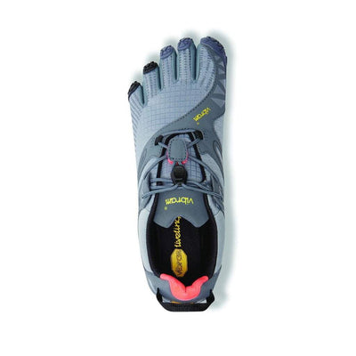 Vibram Fivefingers 2018 - V Trail Mens - Grey - Black - Orange