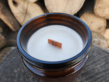 Glamping - Soy Wax Candle - Wood Wick - Campfire Candles