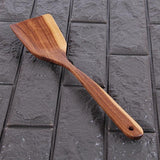 Natural Kitchen Wooden Spoon Home Cooking Wood Fork Rice Spoon Cutlery Long Handle Utensils Tableware Accessories V3