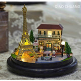 WORKMANSHIP Production Wood DIY Music Box Valentine's Day Creative House And Home Furnishings Gift
