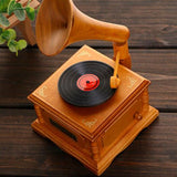 Retro Refinement Gramophone Music Box House And Home Furnishings Personality Creative Artware Gift High Quality Collection L851