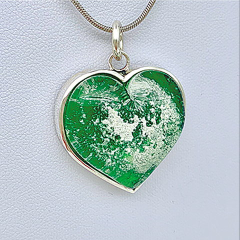 Heart Pendant Glash Designs