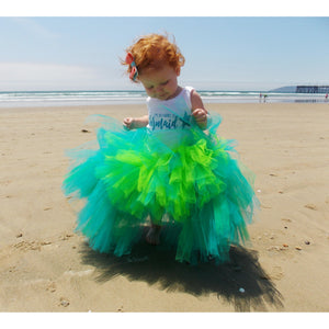 Mermaid High-Low Tutu
