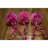 Pink Princess Party Wands