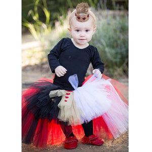 Queen of Hearts High-Low Tutu