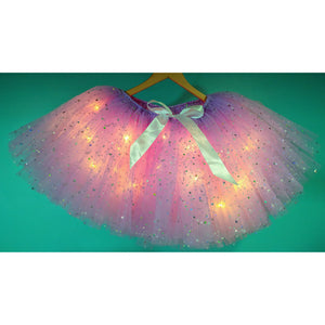 Lavender Sparkle LED Light Up Tutu